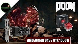 doom vulkan athlon x4 845 gtx 1050ti low profile micro atx pc