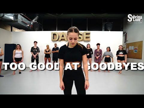 SAM SMITH - Too Good At Goodbyes| alicia moffet| Contemporary Jazz | Sabrina Lonis class choreo
