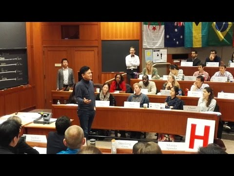 [RNN] Mickey Talks about Englishnization at Harvard Business School