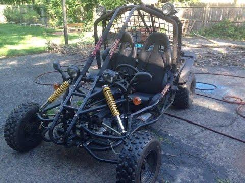 150cc Spyder Gokart Driving Youtube