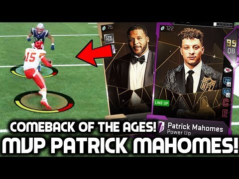 MVP PATRICK MAHOMES & AARON DONALD! CRAZY COMEBACK! Madden 19 Ultimate Team