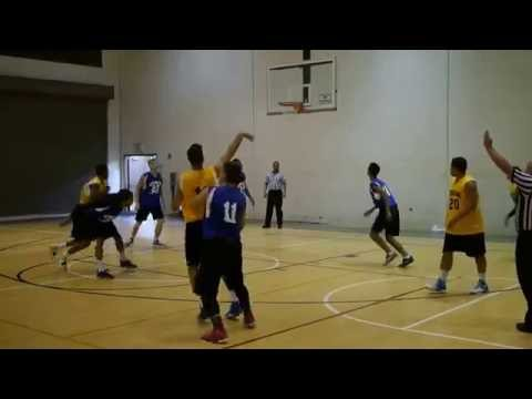 Hawaii Basketball Summer League - Electricians HI vs National Fire - 1st Half 7-16-16