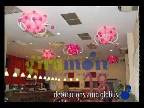decoracin con globos decoraci amb globusflv