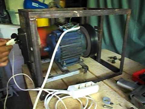 High efficient electric motor generator youtube for Free energy magnet motor fan