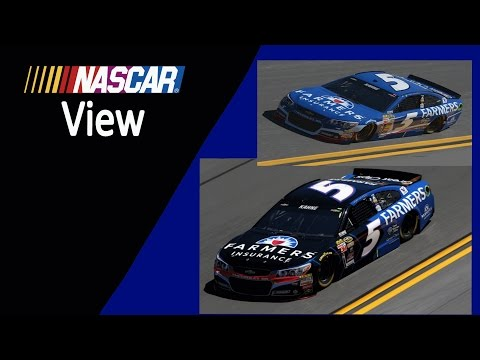 NASCAR View #55 Farmers Insurance Leaves Kasey Kahne in 2018