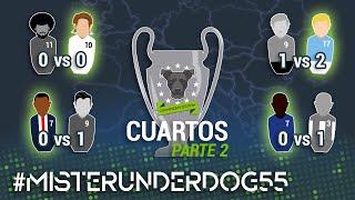 MISTER UNDERDOG 55: REAL MADRID vs CHELSEA & PSG vs MANCHESTER CITY