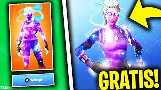 Come fortune at SKIN GALAXY FEMMINA for FREE! | Fortnite Gameplay ITA