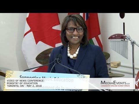 Ontario Boosting Support for Music Education in Schools