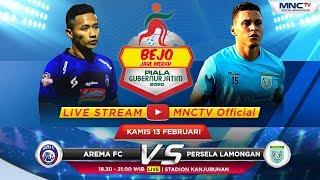 FULL !! AREMA FC VS PERSELA LAMONGAN (FT : 3-1) - Bejo Jahe Merah Piala Gubernur Jatim 2020
