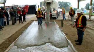 Self Consolidated Concrete (SCC) Demo - Woodstock Outdoor Farmshow (CFBA)