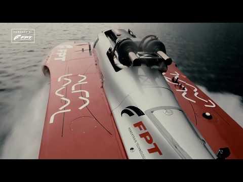 New Diesel Power Boat World Speed Record: 277.5 Km/h