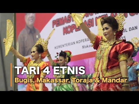 Tari Empat Etnis (Bugis, Makassar, Mandar & Toraja)