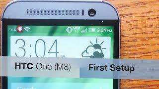 HTC One (M8) - First Setup