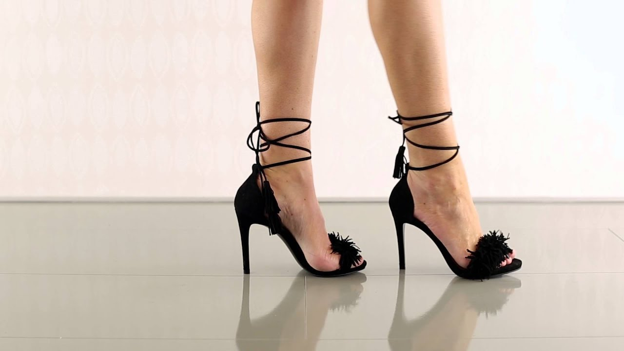 28c38a5e8dc Sassey in Black Suede Steve Madden - YouTube