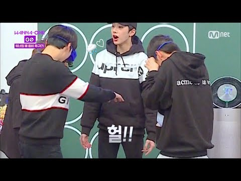 [eng sub] wanna one go ep 4 - strange body gag soccer ft. victimised Gulliver maknae guanlin!