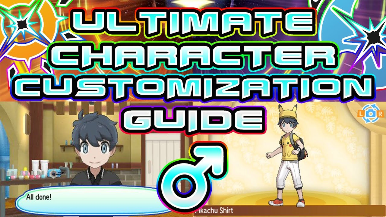 Ultimate Trainer Customization Guide For Pokemon Ultra Sun And Moon