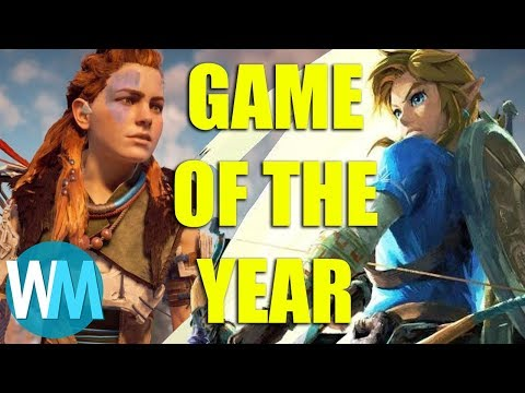 Top 10 Best Video Games of the Year (2017)