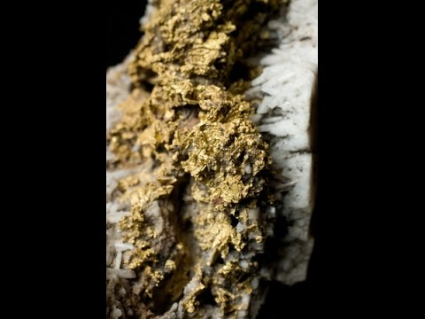 MASSIVE EARTHQUAKES CREATE GOLD VEINS IN AN INSTANT