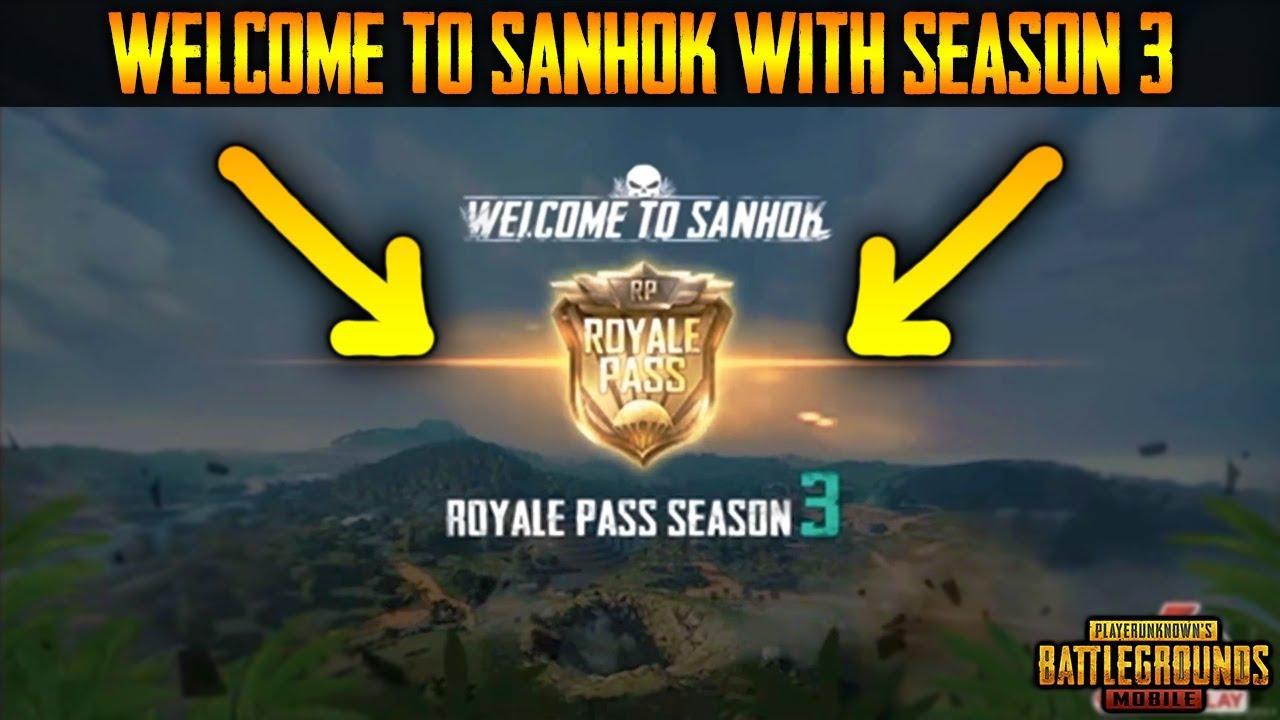 pubg mobile season 3 sanhok