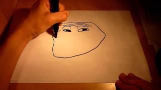 Как нарисовать trollface(, 2011-12-11T23:16:43.000Z)