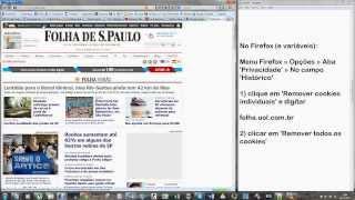 Como burlar o bloqueio da Folha de São Paulo Online [1080p]
