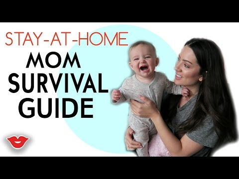Stay At Home Mom Survival Guide! | Michelle from Millennial Moms