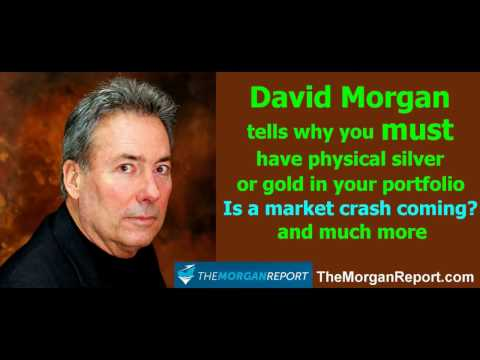 David Morgan on why you MUST own silver or gold, silver shortage, market crash 2017, GLD & SLV