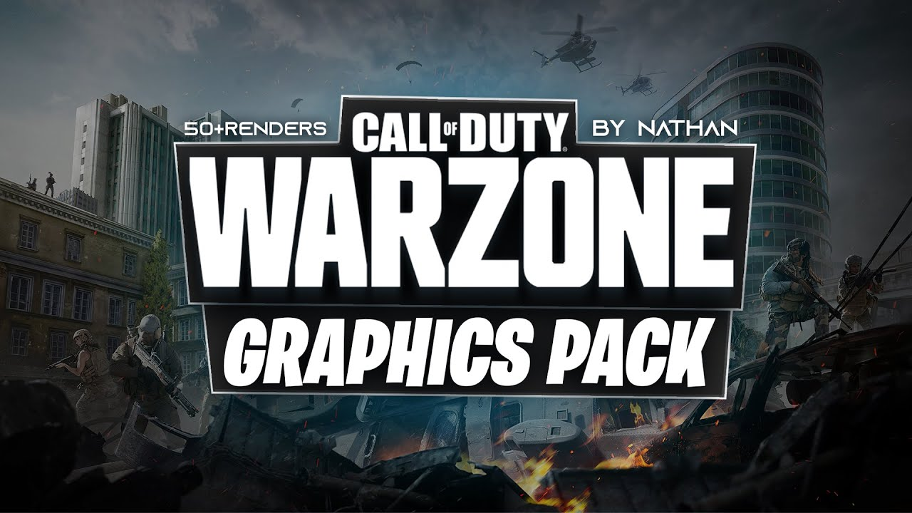 Warzone Graphics Pack By Nathan Free Youtube