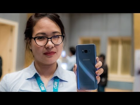 Samsung S8 and S8 plus Hands on at launch event in Nepal (Nepali Version )