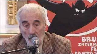 Christopher Lee talks about The Wicker Man