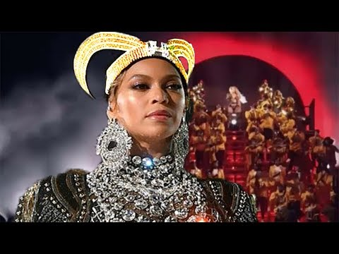 Beyonce Worships Devil at Coachella Disguised as a Homage to Egypt's Black Roots