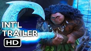 Moana Official International Trailer #2 (2016) Disney Animated Movie HD