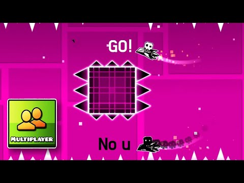 GEOMETRY DASH MULTIPLAYER (with FunnyGame & Mulpan & Partition)