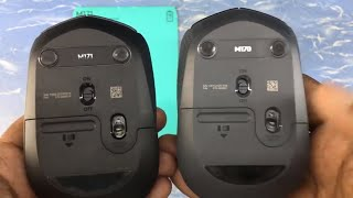 logitech M170 & M171 wireless mouse comparison