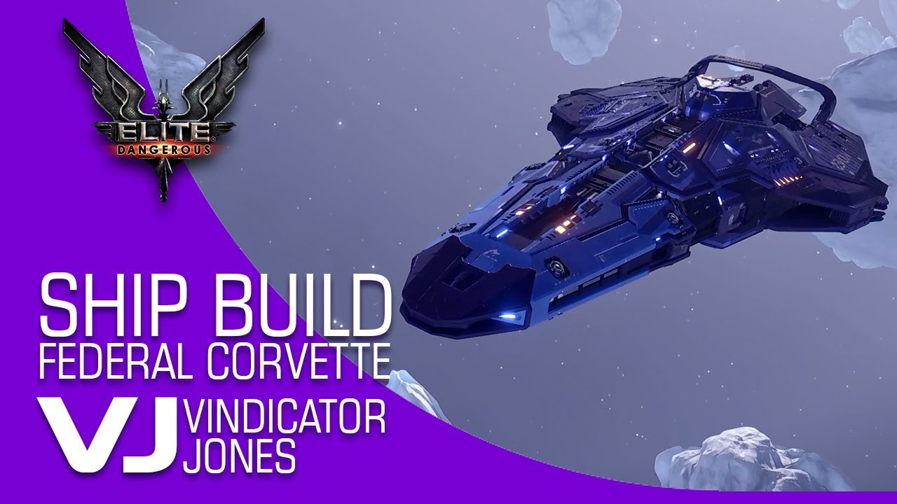 Federal Corvette - Vindicator Jones Ship Build