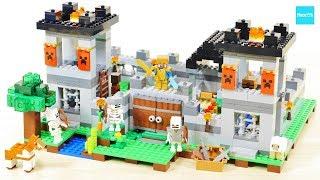 レゴ マインクラフト ザ・フォートレス 要塞 21127 セット説明7:03~ / LEGO Minecraft The Fortress 21127