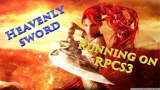 Heavenly Sword runs on PC Emulator RPCS3 0.0.5-6648 Alpha GAMEPLAY