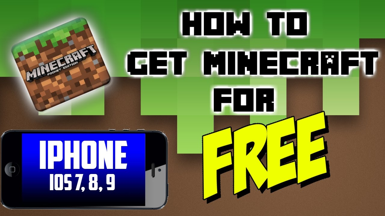 how to get minecraft for free on ios