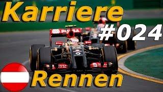 F1 2014 #024 - Österreich Rennen