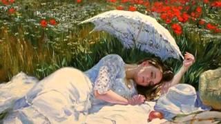 Гимн женщине..Работы художника Владимира Волегова