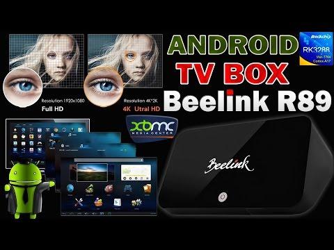 4K Android TV Box. IPTV, ON-LINE VIDEO, 3D ИГРЫ - Smart TV приставка Beelink R89 - ОБЗОР + ТЕСТЫ