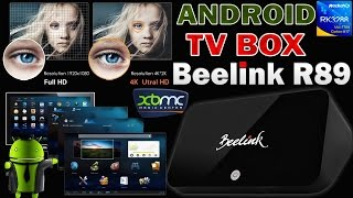 4K Android TV Box. IPTV, ON-LINE VIDEO, 3D ИГРЫ - Smart TV приставка Beelink R89 - ОБЗОР + ТЕСТЫ