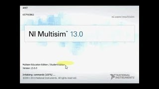 "Download, Install and Activate ""Ni Multisim 13.0"""
