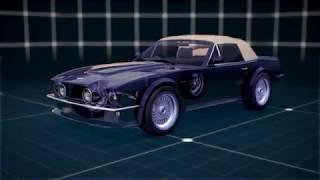 L'ASTON V8 -  TRAINS ROULANTS
