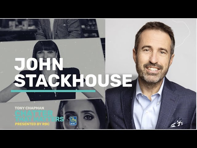 I chat with John Stackhouse