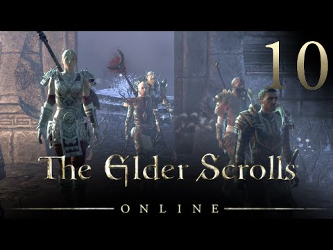 FIVE COMPANIONS! - Elder Scrolls Online Let's Play 10 (ESO Gameplay/Commentary)