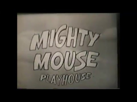 Mighty Mouse Playhouse   series 1  black & white 1955