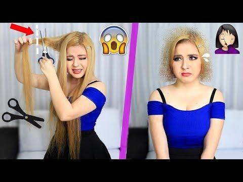 Cumpliendo sus RETOS /¿Corto mi cabello ? Criss Huera