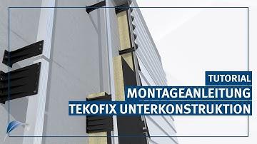 TEKOFIX - Für Fassaden ohne Wärmebrücken