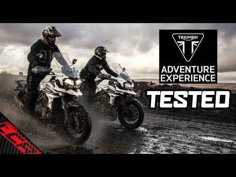 c8a0b2e711d Triumph Adventure Experience - Offroad On Tiger 800   1200 - YouTube